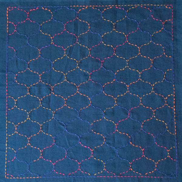Sashiko Sampler from Indigo Niche