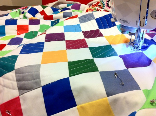  Spiral Quilting