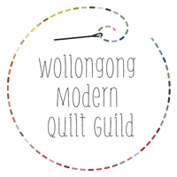 I'm a member of the Wollongong Modern Quilt Guild