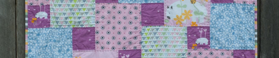 Ada's Quilt: Step Down Piecing with Wombat Wonderland