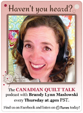 Canadian Quilt  Talk