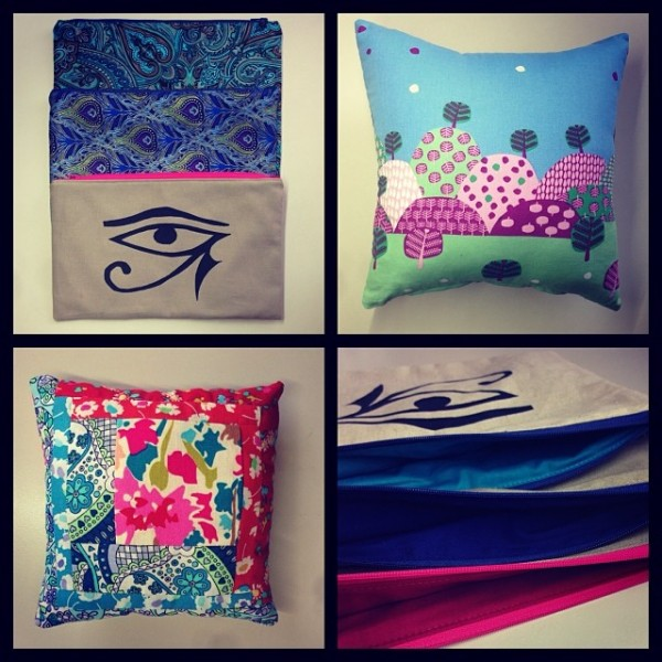 Xmas Gifts Collage - Zippered Pouches & Cushions