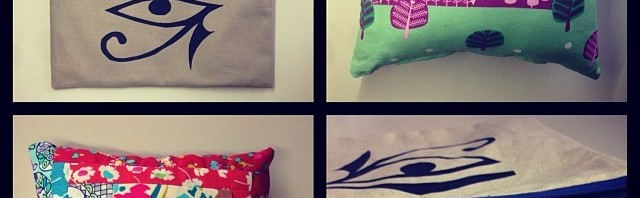 Xmas Gifts Collage - Zipper Pouches & Cushions