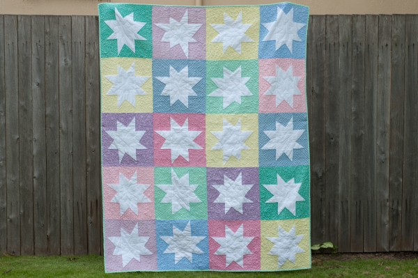 Super Stars - WMQG Charity Quilt
