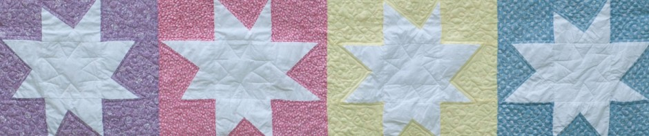 Super Stars – A Finished Charity Quilt