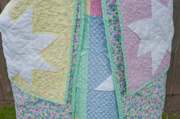 Super Stars - WMQG Charity Quilt - Backing & Binding