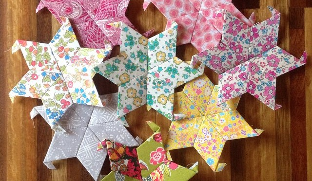 Liberty Stars Quilt – In the beginning