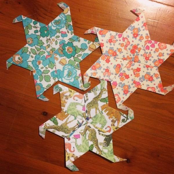 Libery Stars Quilt - Stars 010-012