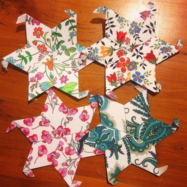 Liberty Stars Quilt - Stars 013-016