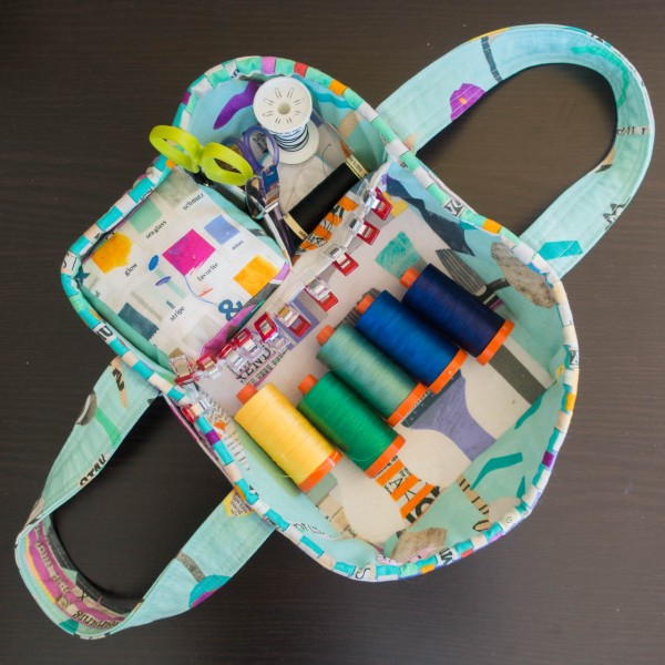 Social Tote - a portable sewing caddy