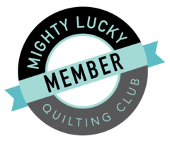 Mighty Lucky Quilt Club Member
