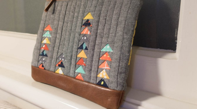 Aussie MQG Zipper Pouch Swap - Mini Flying Geese