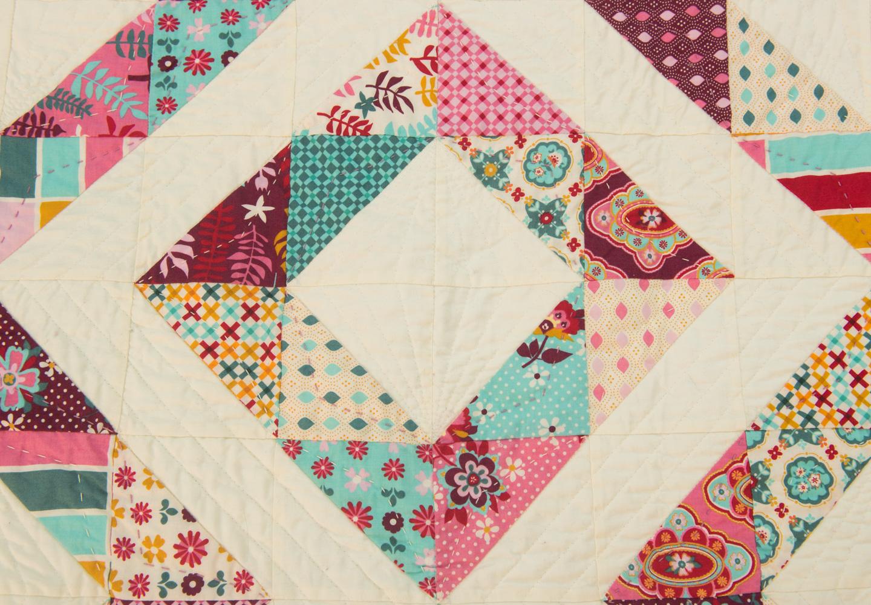 Nan's Quilt - Detail